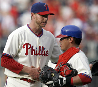 Roy Halladay strikes out six en route to the 17th shutout and 52nd complete game of his career.  (AP)