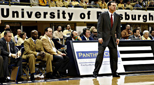 The Petersen Events Center opened in 2002 and Jamie Dixon arrived a year later. (Getty Images)