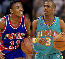 Isiah Thomas and Chris Paul