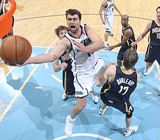 'I felt like one of those nights I wasn't going to miss,' Mehmet Okur says.  (Getty Images)