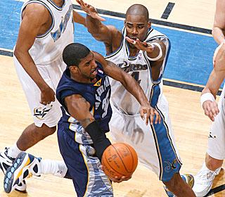 'We got the monkey off our back,' O.J. Mayo says after the Grizzlies end their 12-game skid.  (Getty Images)