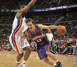 'He's still playing like an MVP,' Allen Iverson says about Steve Nash.  (Getty Images)