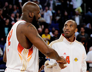 Former teammates Shaq and Kobe coincide once again on Sunday night and finish as co-MVPs.