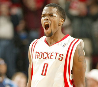 Aaron Brooks steps up with 19 points, including a key 3-pointer late in the game.  (Getty Images)