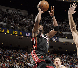 'No player alone can carry everything,' Dwyane Wade says after his career game.  (Getty Images)