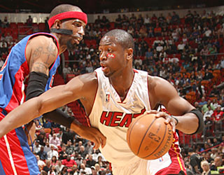 Dwyane Wade follows up his career-high 50 points by tabbing a new high in assists (16).  (Getty Images)
