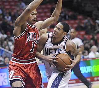 All-Star Devin Harris has a combined 81 points in his past two outings, both victories for the Nets. (AP)