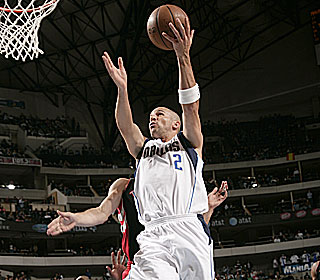 Jason Kidd joins John Stockton, Mark Jackson and Magic Johnson with 10,000 assists.  (Getty Images)
