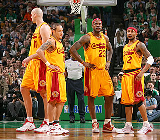 The Cavs are left searching for answers after falling 1-2 in the season series against Boston.  (Getty Images)