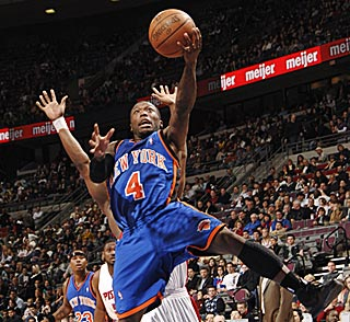 Nate Robinson rises to the occasion again with 30 points -- 14 after the third quarter.  (Getty Images)