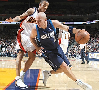 Jason Kidd has 21 points, 11 assists and 10 boards for his second triple-double this season. (Getty Images)
