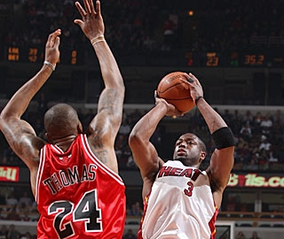 Dwyane Wade rebounds from a poor game at Indiana, but his 31 points are still not enough. (Getty Images)