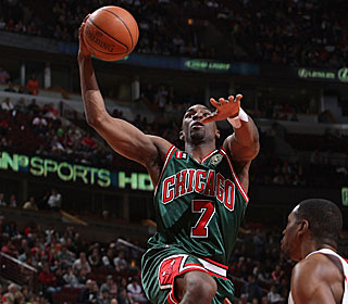 Ben Gordon takes one of his game-high 19 field-goal attempts during his 24-point game.  (Getty Images)