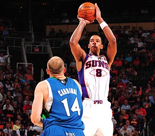 Channing Frye converts six of his 10 3-pointers and his coach says 'he should have taken 15.' (Getty Images)