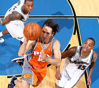 Steve Nash has the Suns off to one of their best starts in franchise history.  (Getty Images)