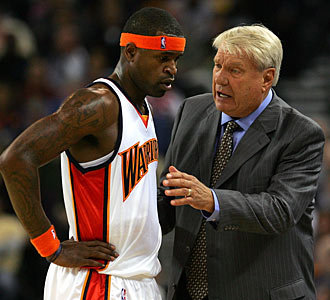 Stephen Jackson and Don Nelson haven't seen eye to eye lately. (Getty Images)