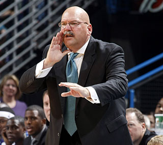 Jeff Bower tallies his first win since taking over as New Orleans' new head coach.  (Getty Images)