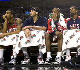 The Nets are two losses shy of the NBA record, set by Miami in 1988-89 and tied by the 1999 Clippers. (AP)