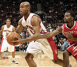 Jarrett Jack has a well-rounded game with 17 points, eight rebounds and eight assists. (Getty Images)
