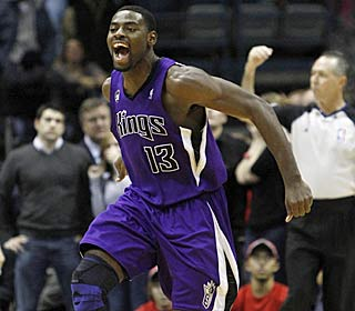 Tyreke Evans gets the last laugh on the Bucks, hitting the winner to cap a 24-point effort.  (AP)