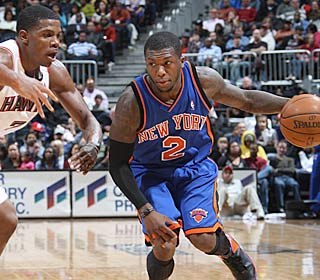 In his first game since Dec. 1, disgruntled reserve Nate Robinson explodes for 41 points.  (Getty Images)