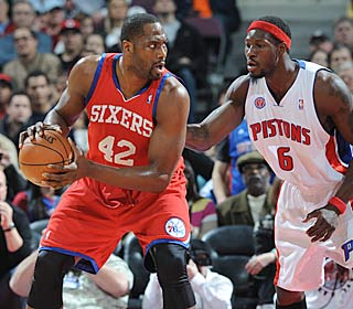 Elton Brand shows flashes of his former All-Star self, scoring a game-high 25 off the bench.  (Getty Images)