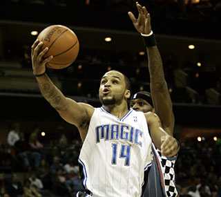Jameer Nelson steps up in overtime with six points, ending the game with 21 for the victors.  (US Presswire)