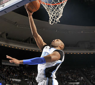 Vince Carter shakes off his struggles with a dominant effort against the Bucks.  (Getty Images)