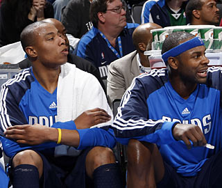 New Mavs Caron Butler and Brendan Haywood shoot a combined 7 of 23 from the field.  (Getty Images)