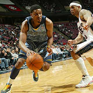 Rudy Gay's 29 points lead the Grizzlies as they send the Nets to another disappointing loss.  (Getty Images)