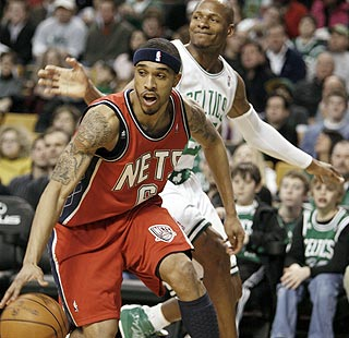 Courtney Lee scores 21 points as the Nets foil Ray Allen and the Celtics. (AP)