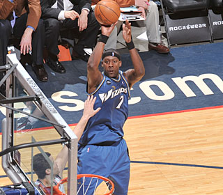 'It's like a dream come true for me,' says Andray Blatche, who nets 36 points.  (Getty Images)