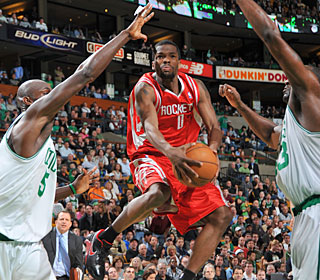 Aaron Brooks causes the Celtics fits, scoring 30 points and handing out nine assists.  (Getty Images)