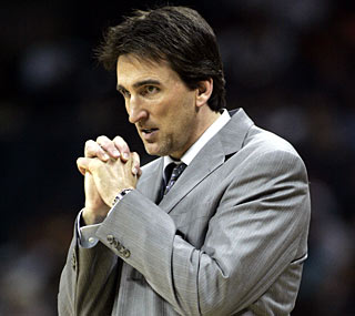 Embattled all season, Vinny Del Negro has his Bulls in the playoffs for the second straight season.   (AP)