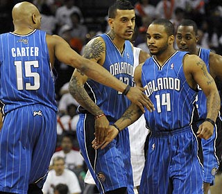 Jameer Nelson provides a boost of his own, scoring 18 points to go with four assists. (US Presswire)