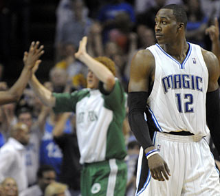 Playing at home hasn't helped the Magic at all. They now face a 2-0 hole heading to Boston.  (Getty Images)