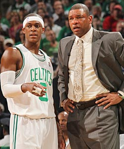 Doc Rivers was a critic of Rajon Rondo, and was also part of his move toward stardom. (Getty Images)