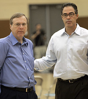 Paul Allen and Kevin Pritchard's relationship ended in strange fashion. (AP)