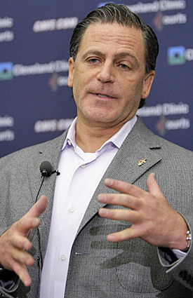 Dan Gilbert's grasp of diplomacy went missing after LeBron James' decision. (AP)
