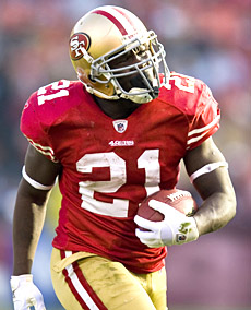 With two new blockers in the mix and no new competition, Frank Gore could enjoy a career year. (US Presswire)