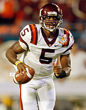We know quarterback Tyrod Taylor will start for the Hokies. But who will back him up? (Getty Images)