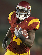 Trojans running back Joe McKnight needs to live up to the hype and prove his worth. (Getty Images)
