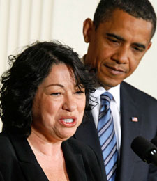 Sonia Sotomayor's previous sports-related rulings suggest a pro-BCS stance. (Getty Images)