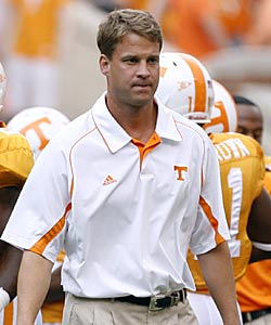 Lane Kiffin arrived on the scene as brash as anybody. (Getty Images)