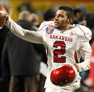 Arkansas kicker Alex Tejada wins the Liberty Bowl in overtime with a 37-yard field goal.