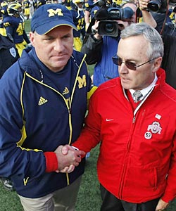 Can you imagine an expansion world where Michigan and Ohio State don't meet every year? (Getty Images)