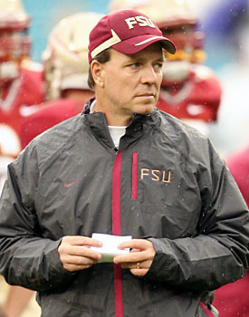 Jimbo Fisher will try to replicate Nick Saban as he takes over the Seminoles. (US Presswire)