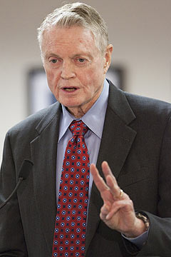 Tom Osborne and Nebraska leave the Big 12 behind after 14 years for the Big Ten. (AP)