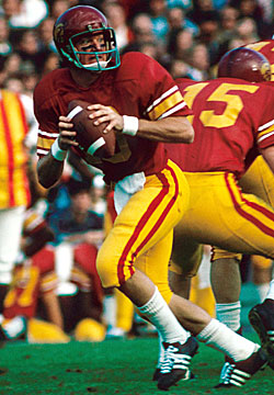 Haden was USC's starting QB from 1972-74 and was also an academic All-American. (US Presswire)