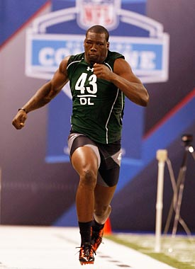 Pierre-Paul's freaky athleticism draws Jevon Kearse comparisons. (Getty Images)